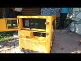 Дизель-генератор Kipor в кожухе, жидкостного охлаждения